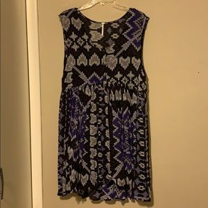 Free People Babydoll Dress